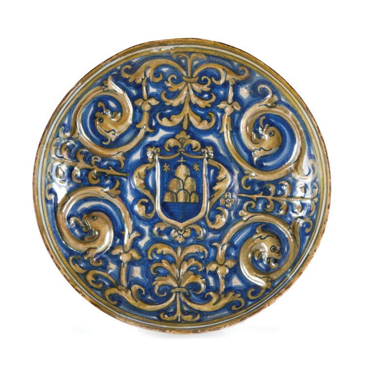 A bowl, Deruta, circa 1540-45