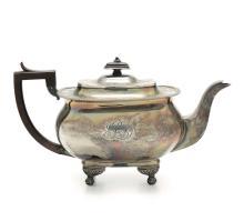 Teiera in argento, Inghilterra XIX secolo,