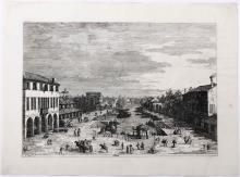 Giovanni Antonio Canal detto Il Canaletto (Venezia 1697-1768), Mestre