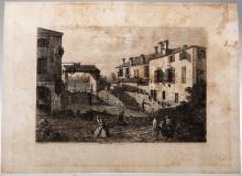 Giovanni Antonio Canal detto Il Canaletto (Venezia 1697-1768), Le Porte del Dolo