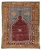 Tappeto anatolico Konia, fine XIX secolo