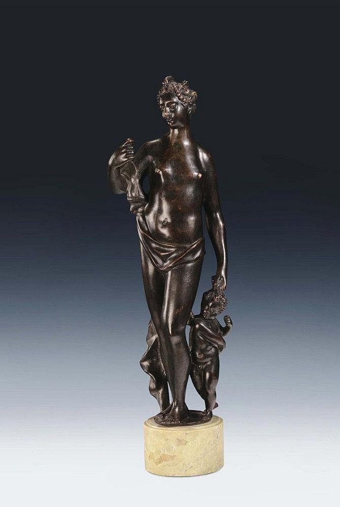 """Girolamo Campagna (1550-1625), ambito di, Venezia XVI-XVII secolo """"Venere e Cupido"""""""