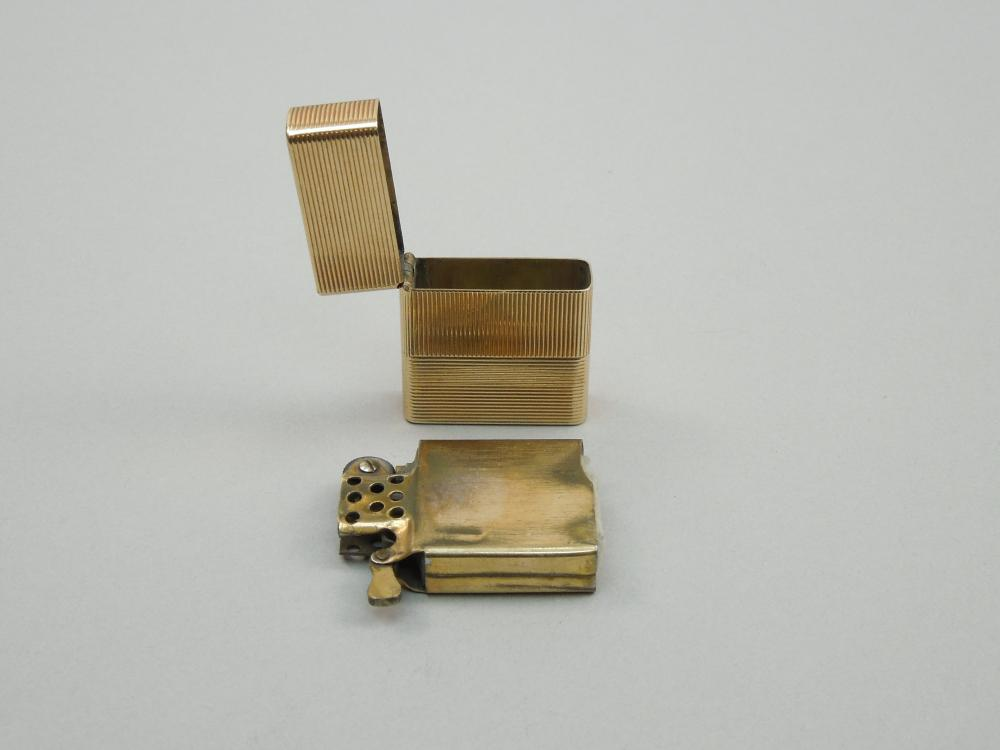 14K GOLD CASE LIGHTER.