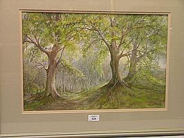 Paula Thrift - watercolour, entitled 'Through the