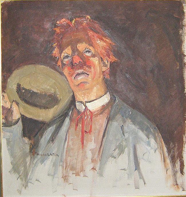 ANTOINE MARGUERITE (1907 - 1988) 'L'angoisse du