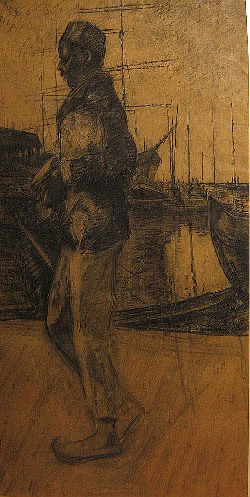 HAGEMAN VICTOR (1868 - 1940) Exotische man in de