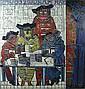 TAMIR MOSHE (1924 - 2004) De kaartspelers. Les, Moshe Tamir, Click for value
