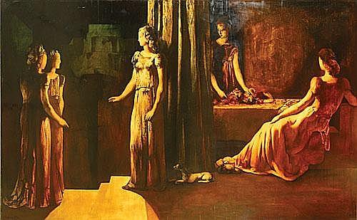 DELMOTTE MARCEL (1901 - 1984) De vestaalse