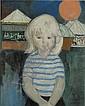 SMOLDERS PAUL (1921 - 1997) Meisje op de kermis., Paul Smolders, Click for value