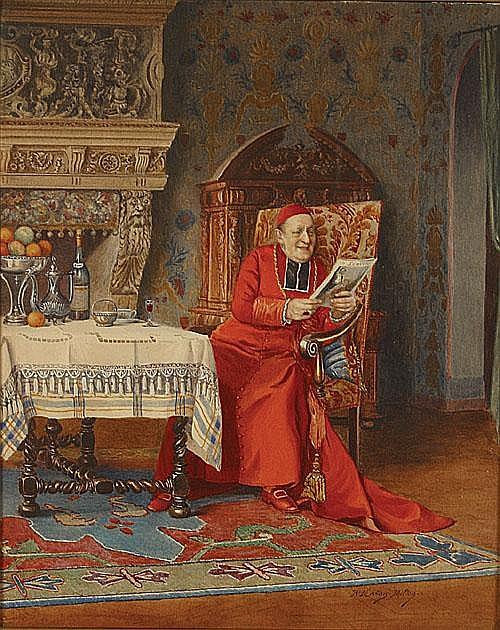 MARAIS-MILTON RACHEL (1872 - 1948) Lezende