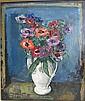 CREYTENS JULIEN (1897 - 1972) Bloemen. Fleurs Olie