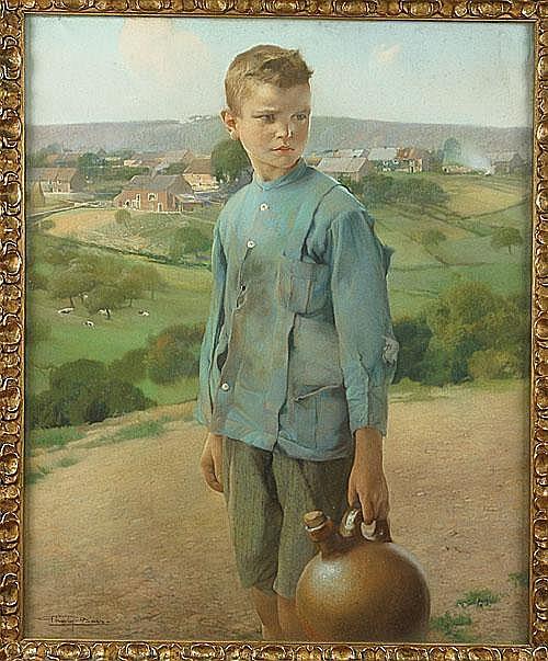 BAES FIRMIN (1874 - 1945) Het jongetje met de