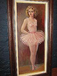 FREY ALICE (1895 - 1981) De ballerina. La
