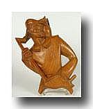 POELS ALBERT 1903-1984 'Tijl Uilenspiegel' Hout.