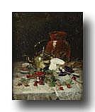 JOORS EUGEEN (1850 - 1910) Stilleven met