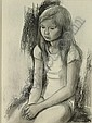 SMOLDERS PAUL (1921 - 1997) Zittend meisje. Fille, Paul Smolders, Click for value