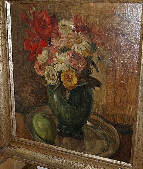 DE TROYER PROSPER (1880 - 1961) Bloemen in een