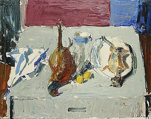DE DEKEN ALBERT (1915 - 2003) Stilleven met