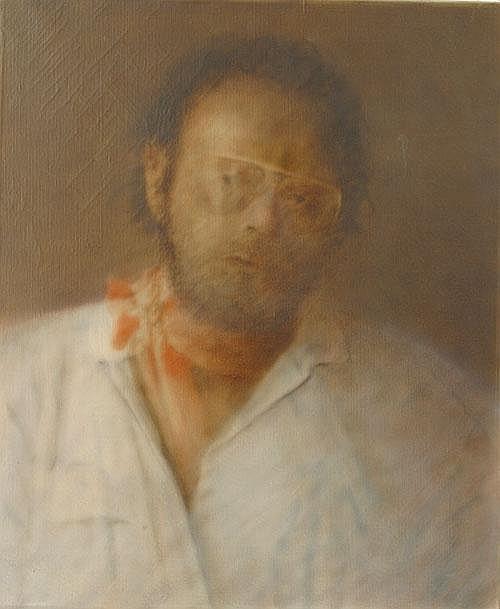 LODENKÄMPER KAROLUS (1943 - ) Zelfportret.