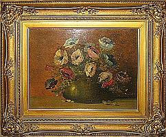 VAN OS JACOBUS 1869 1944 Bloemenvaas Vase fleuri