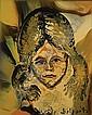 DELPORTE CHARLES (1928 - ) Vrouw met lang haar., Charles Delporte, Click for value