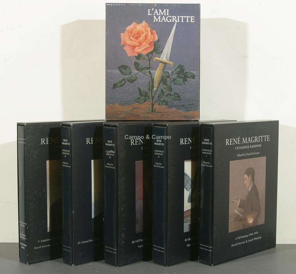 MAGRITTE LOT BOOKS