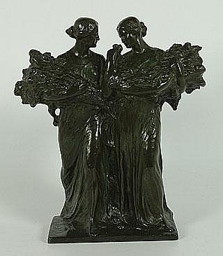 JOCHEMS FRANS (1880 - 1949) Rozenverkoopsters. La