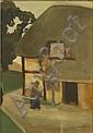 PERMEKE CONSTANT1886 - 1952 Hoeve Fermette, Permeke Constant, Click for value