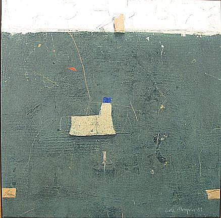 COLE MORGAN1950 Street series I Gemengde techniek.