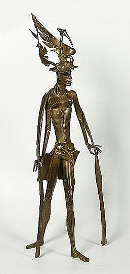 CLAERHOUT JEF1937 'Mannequin' Brons. Bronze Get.