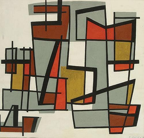HOLLEY FRANCINE (1919-) Constructie. Construction