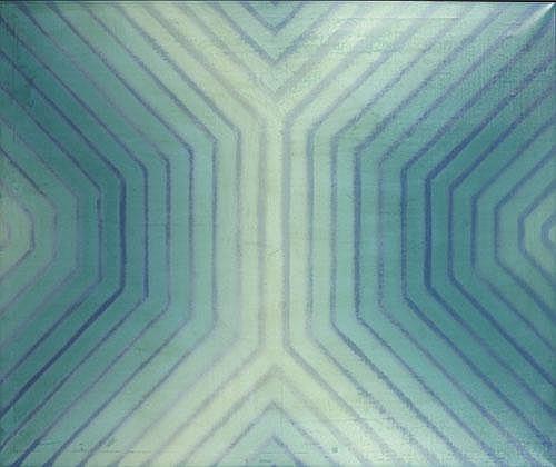 BEULLENS ANDRE (1930-1976) 'Poudrée d'aurore III'.
