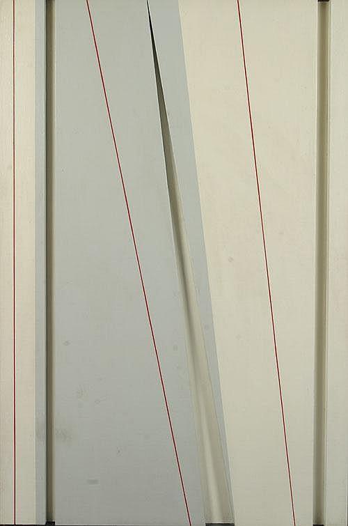 DUBOIS JEAN (1923-1990) Abstracte geometrie.
