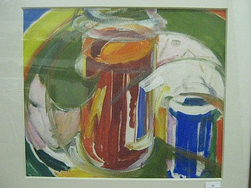 DE TROYER PROSPER (1880-1961) Compositie.