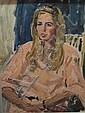 DE DEKEN ALBERT (1915-2003) Zittende dame. Dame, Albert