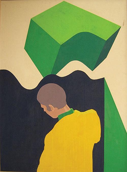BAEKELMANS GUY (1940-) Het gele kostuum. La