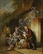 DE BRAEKELEER FERDINAND (1792 - 1883) Afstraffing