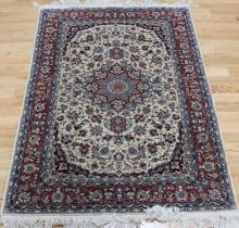 Vintage & Finely Hand Woven Kirman Style