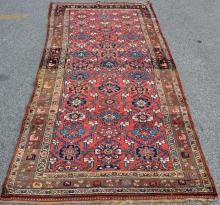 Antique and Finely Hand Woven Sarouk  Style Carpet