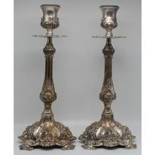 e72365437e8 Sterling Silver Candlesticks & Candelabra for Sale at Online Auction ...