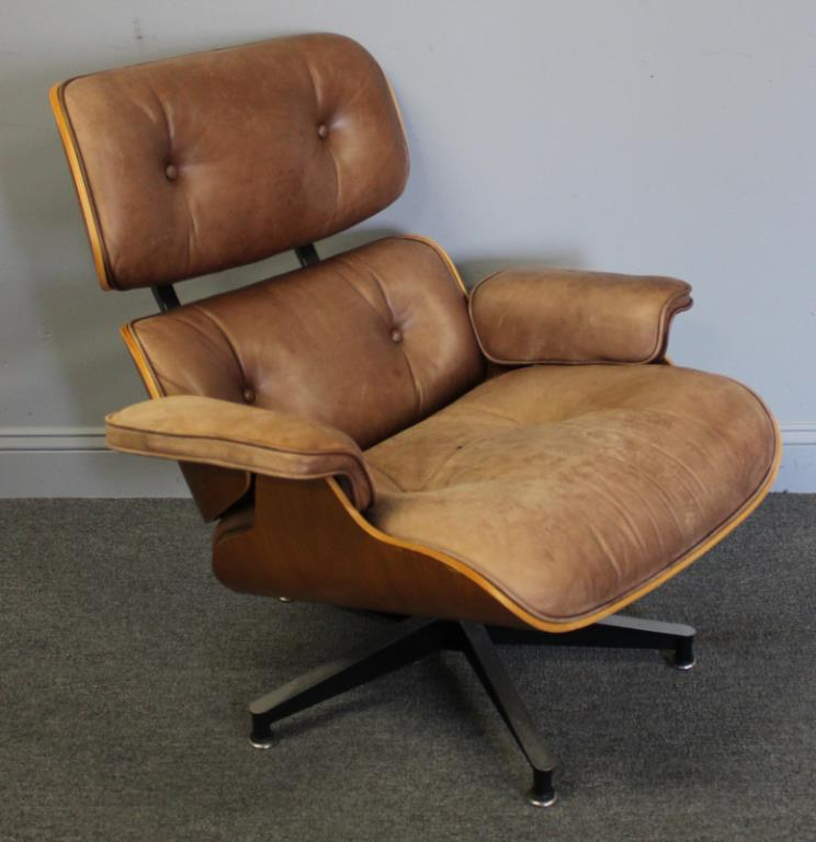 Tremendous Midcentury Vintage Eames Lounge Chair Ottoman Gamerscity Chair Design For Home Gamerscityorg