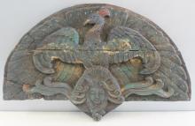 Antique Folk Art Wood Carving.