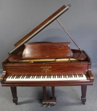 STEINWAY & SONS. Baby Grand Piano Serial #