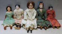 Lot of Antique Dolls To Inc.