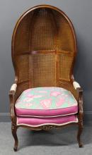 Antique Caned Porter's Chair