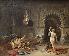 AMERIGO, Francisco Javier. Oil/Canvas. Orientalist