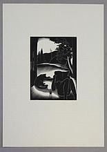 LANDACRE, Paul. Woodblock Print