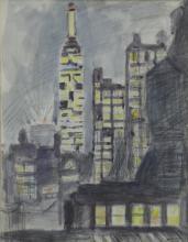 HARTMAN, Bertram. Watercolor & Pencil. New York