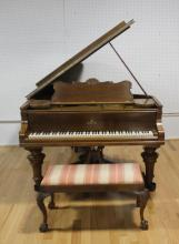 STEINWAY & SONS, Grand Piano Serial #101107.