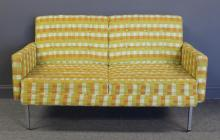MIDCENTURY. Upholstered Settee.